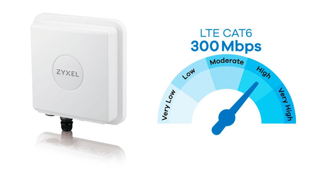 Zyxel LTE modeemi ulkokäyttöön - nopea internetyhteys 4G avulla